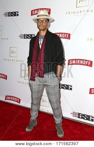 LOS ANGELES - FEB 11:  Eric Benet at the Primary Wave 11th Annual Pre-GRAMMY Party at The London on February 11, 2017 in West Hollywood, CA