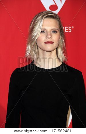 LOS ANGELES - FEB 10:  Molly Kate Kestner at the Musicares Person of the Year honoring Tom Petty at Los Angeles Convention Center on February 10, 2017 in Los Angeles, CA