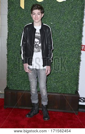 LOS ANGELES - FEB 11:  Mason Cook at the Primary Wave 11th Annual Pre-GRAMMY Party at The London on February 11, 2017 in West Hollywood, CA