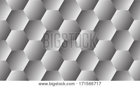 Pentagon Seamless Pattern Abstarct Background.