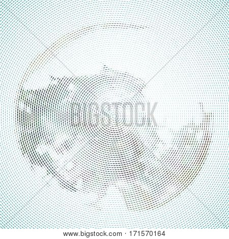 abstract halftone background. circle pattern vector graphic