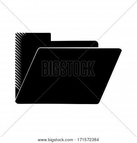 folder file document archive pictogram vector illustration eps 10