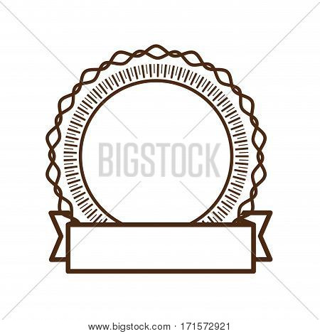 round badge decorative frame banner vector illustration eps 10