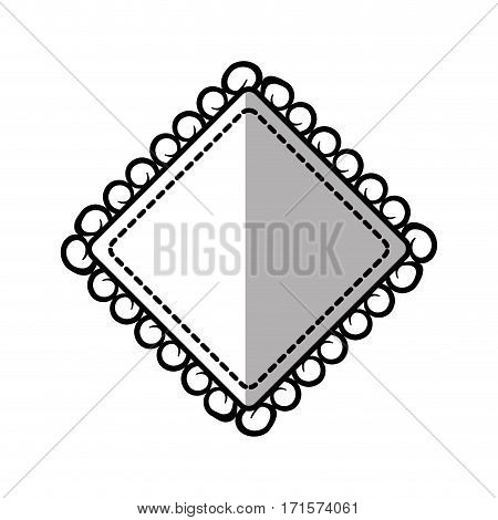 vintage label decorative frame shadow vector illustration eps 10
