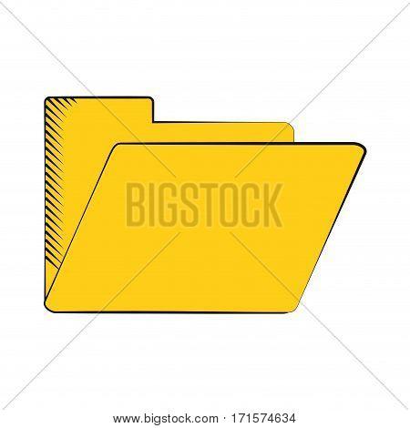 folder file document archive icon vector illustration eps 10