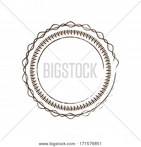 label circle decorative frame vector illustration eps 10