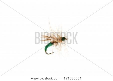 Green Fishing Lure Or Trout Fly