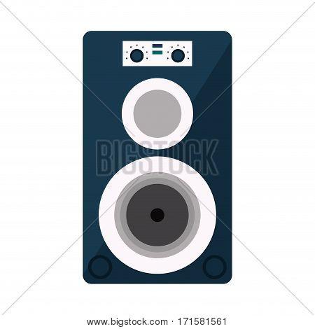musical speaker audio stereo vector illustration eps 10