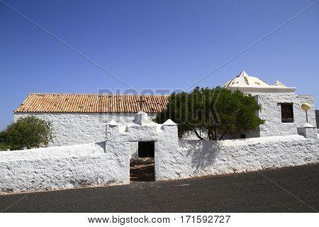 La Ermita De San Agustín, Fuerteventura, Spain