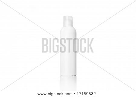 Jar or blank packaging for cosmetic product isolated in white. Mock up.