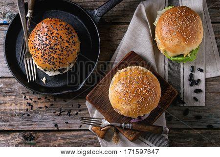 Homemade Veggie Burger