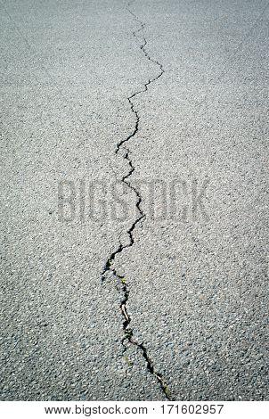 Cracked concrete background texture