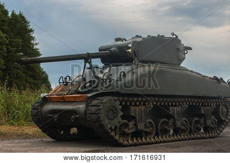 AMERICAN TANK -  Tank from World War II