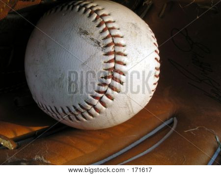 Baseball In Glove