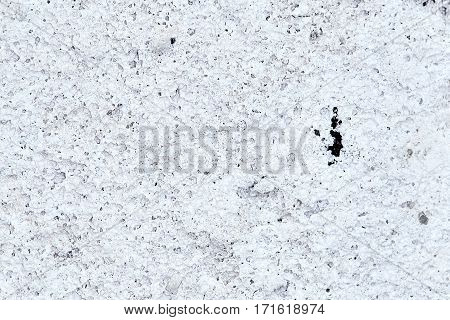 Foam. The gray bubble texture. The wall made of aerated concrete
