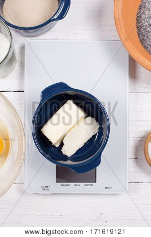 Ingredients For The Cake