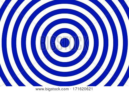 Illustration of dark blue and white concentric circles