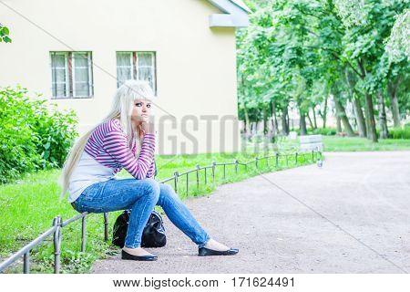 Woman Lost Keys