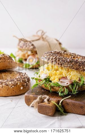 Whole Grain Bagels
