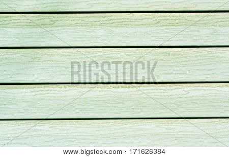 Green Color Plastic House Wall.