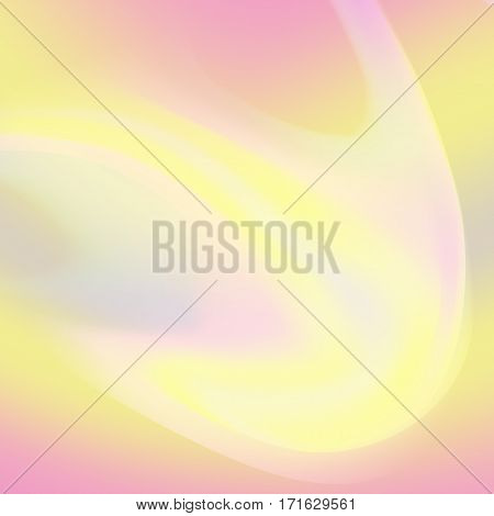 Fluid Iridescent Multicolored Vector Background. Good For Banner, Poster. Spectrum Colors poster