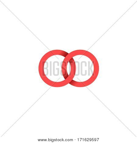 Unusual vector logo in a modern style.