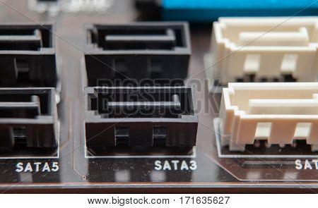 Motherboard Socket, Sata, Repair, Computer,