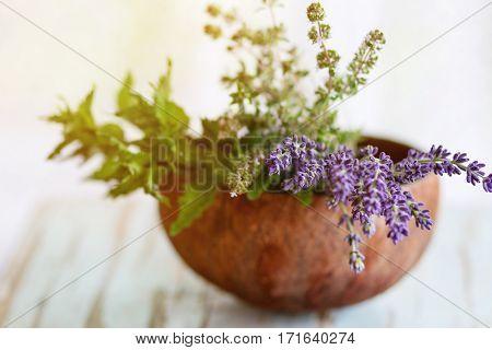 Bouquet Of Garden Herbs