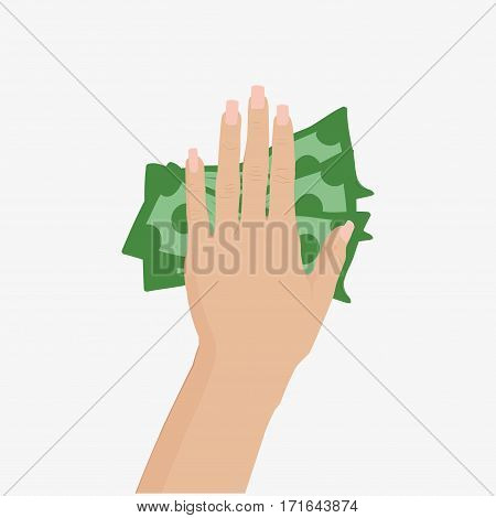 Hand Vector Illustration