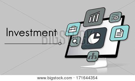 Development Investment Market Expansion Icon