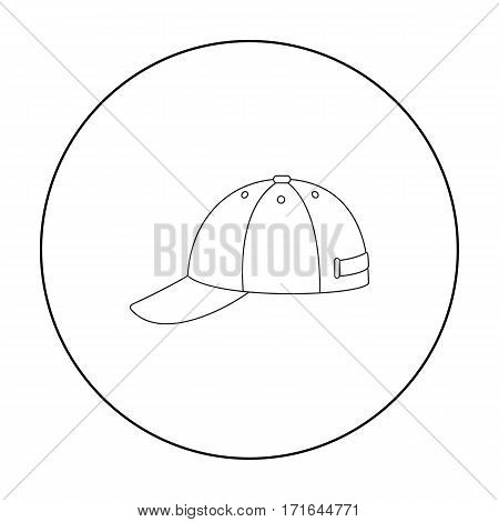 Cap icon of vector illustration for web and mobile design