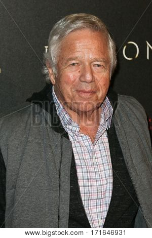 New England Patriots CEO Robert Kraft attends the