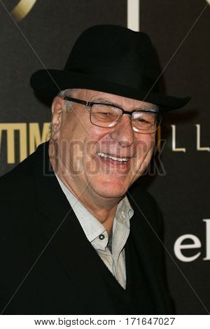 New York Knicks President Phil Jackson attends the