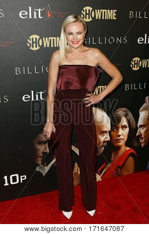 Actress Malin Akerman attends the