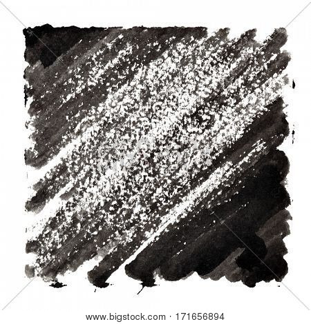 Black abstract background with slanting strokes -  space for your own text - raster illustration