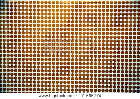 Abstract background texture as small circles views