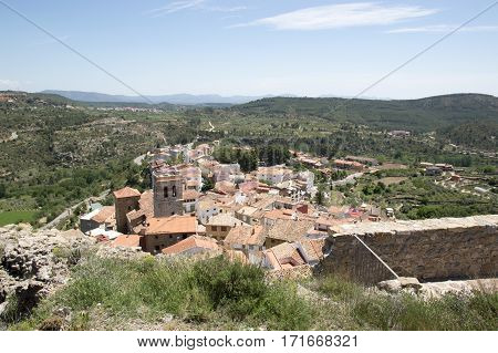 The town of Bejis in Castellon Valencia