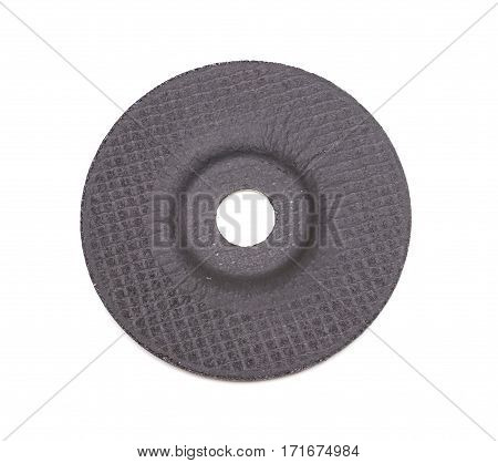 abrasive disks stone for metal grinding isolated on white background