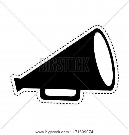 director cinema megaphone icon vector illustration design