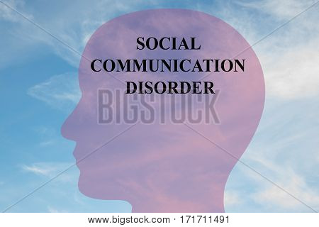 Social Communication Disorder Concept