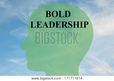 Bold Leadership Concept