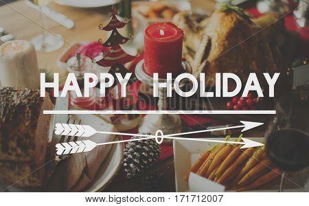 Bon Appetit Celebration Feast Happy Holiday