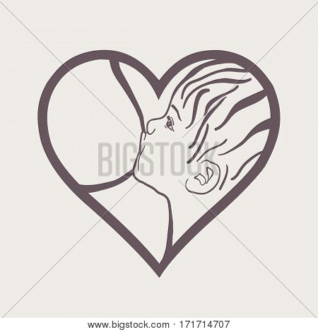 Breastfeeding coalition emblem breastfeeding week logo lactation consultant logo