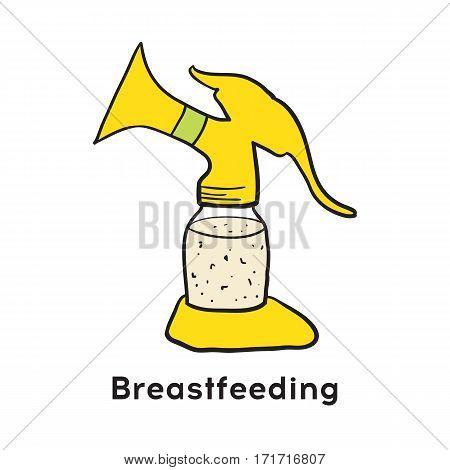 Breast pump breastfeeding products for newborns babies