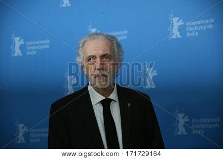 Fernando Trueba attends the 'The Queen of Spain' (La Reina de Espana) photo call during the 67th Berlinale Film Festival Berlin at Grand Hyatt Hotel on February 13, 2017 in Berlin, Germany.