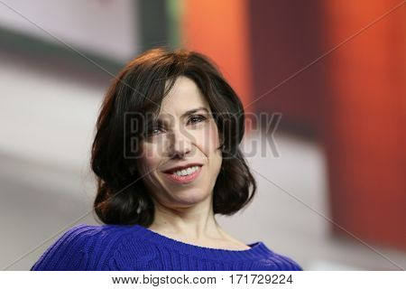 Actress Sally Hawkins  attends the photocall of 'Maudie' during the 67th Berlinale Film Festival Berlin at Grand Hyatt Hotel in Berlin, Germany on February 15, 2017