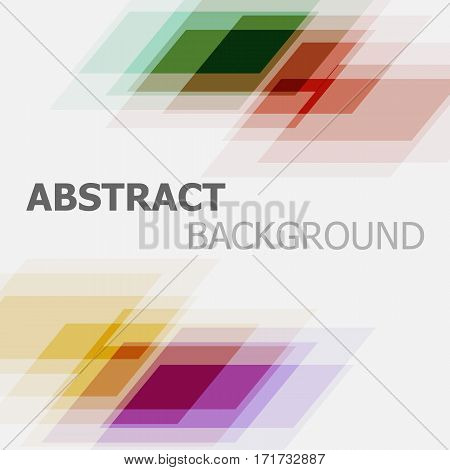 Abstract colourful business banner background, stock vector