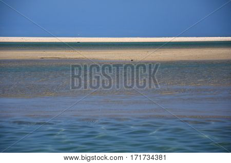 Beach at the Mallacoota. Mallacoota is a small town in the East Gippsland region of Victoria Australia.