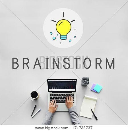Brainstorm fresh ideas technology business