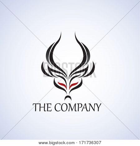 antilop ideas design vector illustration on background